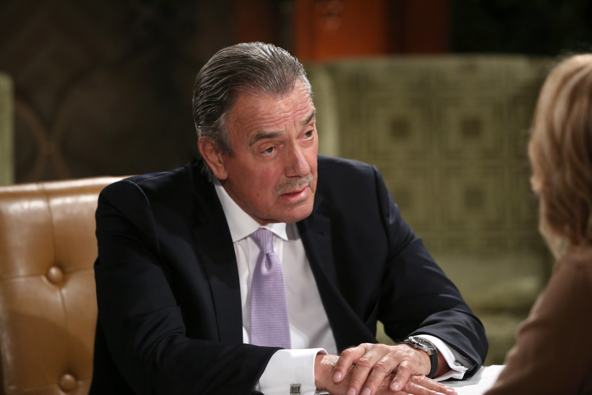 LOS ANGELES - OCTOBER 8:  Coverage of the CBS series THE YOUNG AND THE RESTLESS, scheduled to air on the CBS Television Network. Pictured:  Eric Braeden  (Photo by Cliff Lipson/CBS via Getty Images)