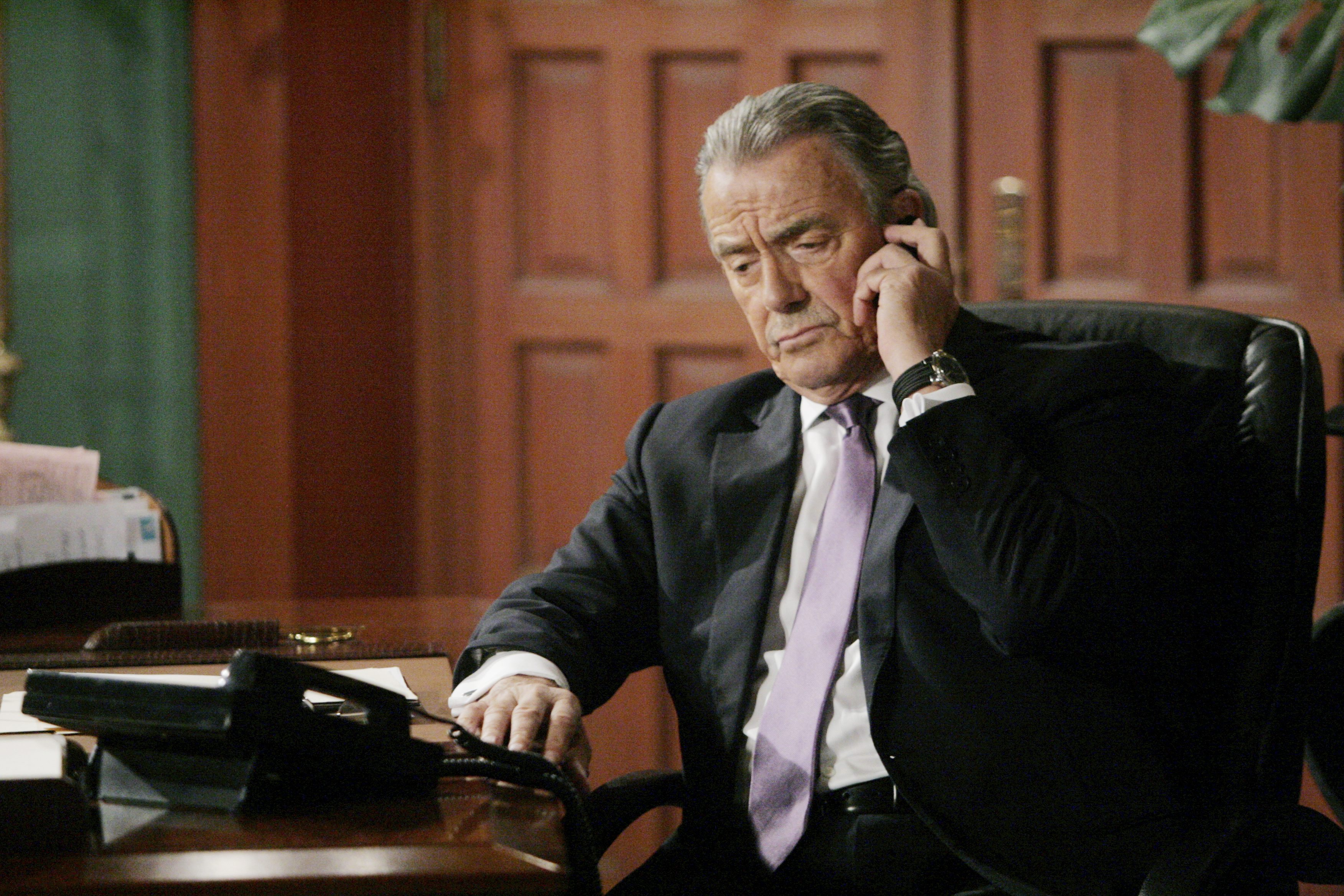 """Eric Braeden """"The Young and the Restless"""" Set  CBS television City Los Angeles 08/01/14 © Sean Smith/jpistudios.com 310-657-9661 Episode # 10493 U.S. Airdate 09/09/14"""