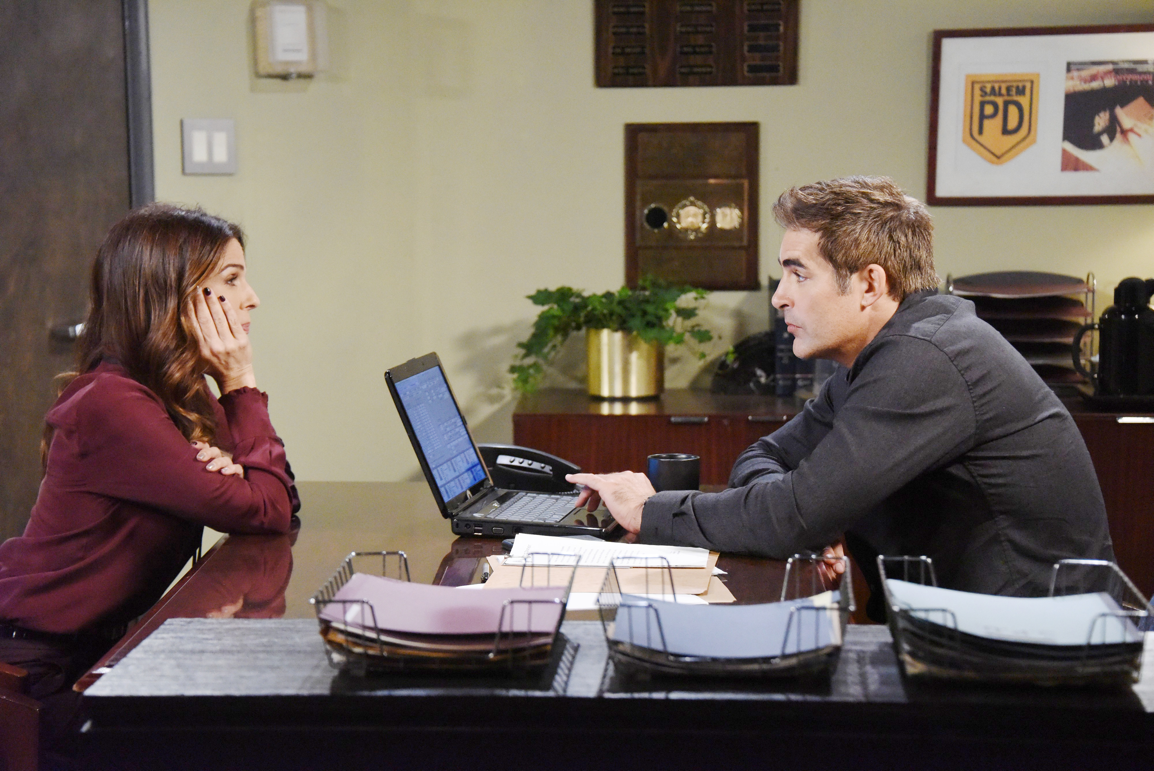 Rafe learns evidence is on its way from Dario on Days of Our Lives