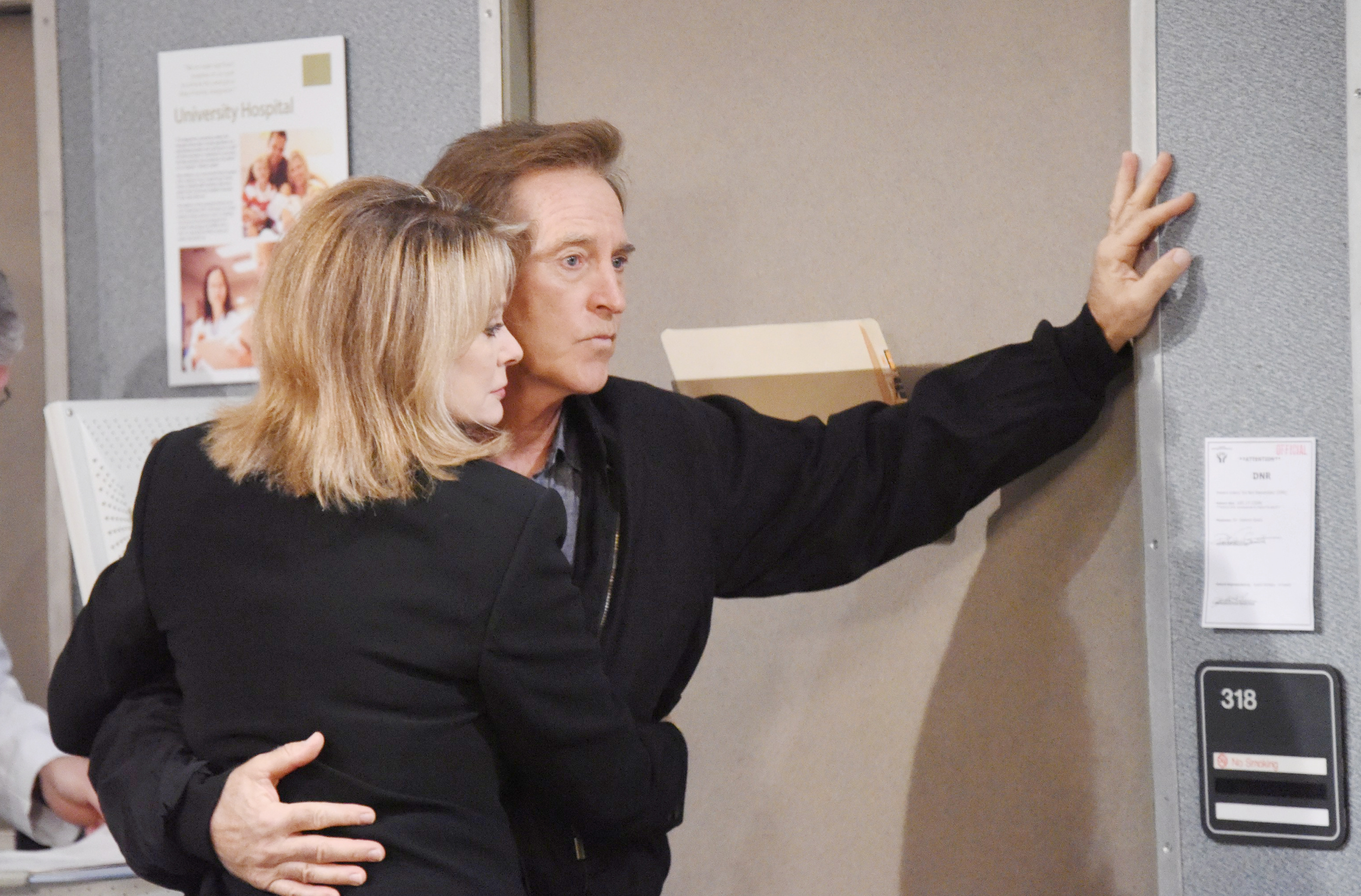 Marlena frets over John's fate on Days of Our Lives