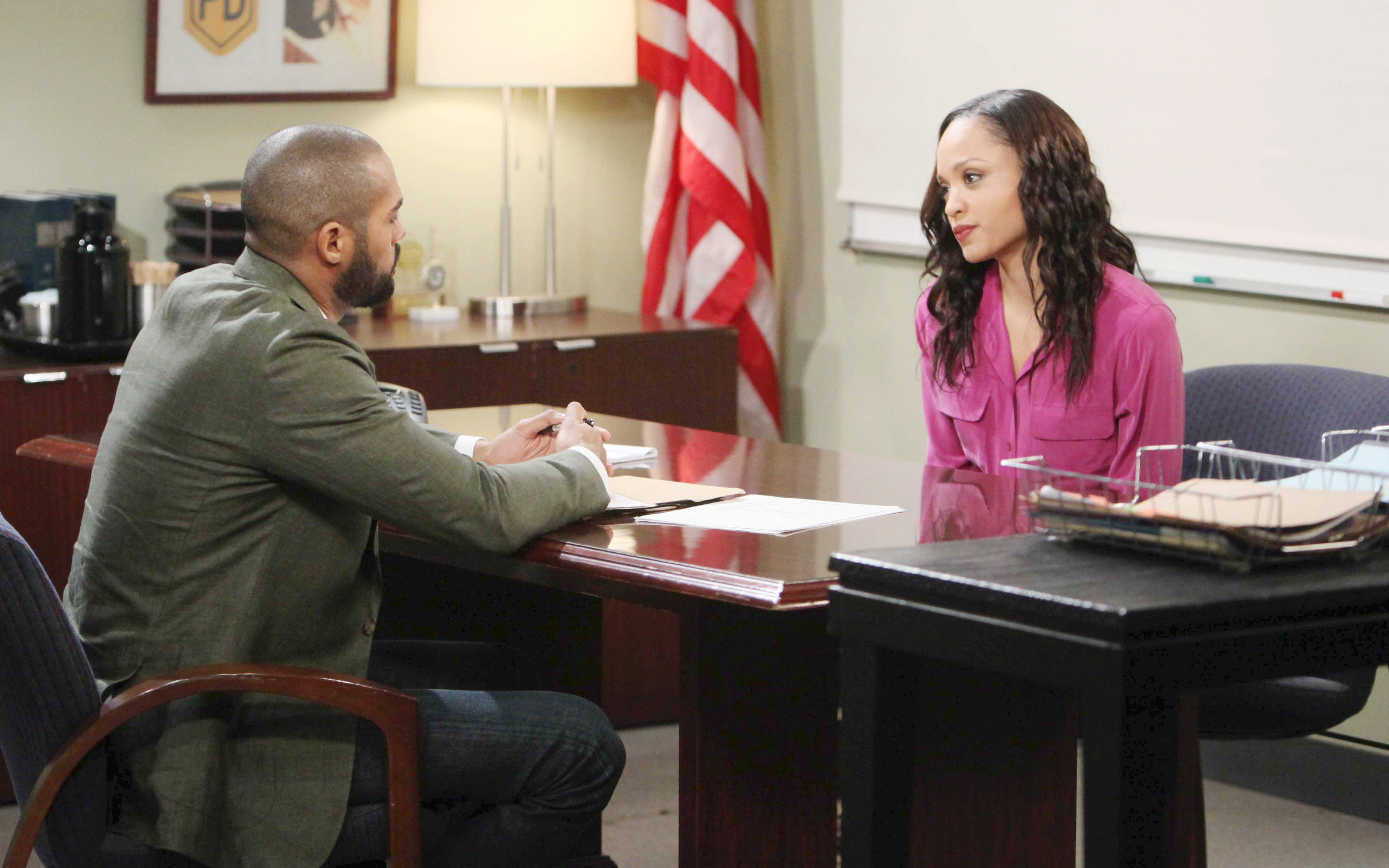Eli tries to stop Lani and JJ from blowing up his plan on Days of Our Lives