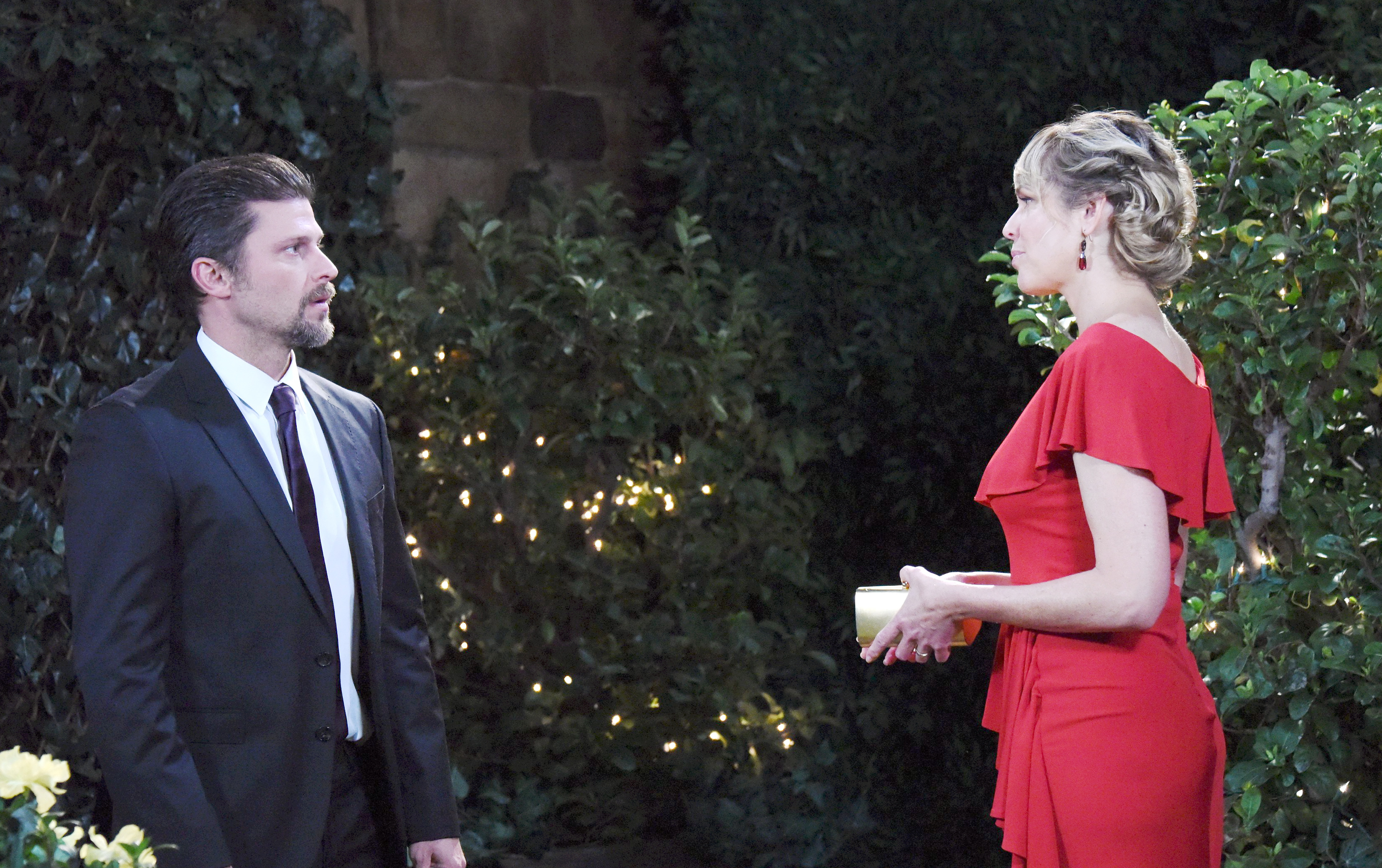 Eric struggles with his feelings for Nicole on Days of Our Lives