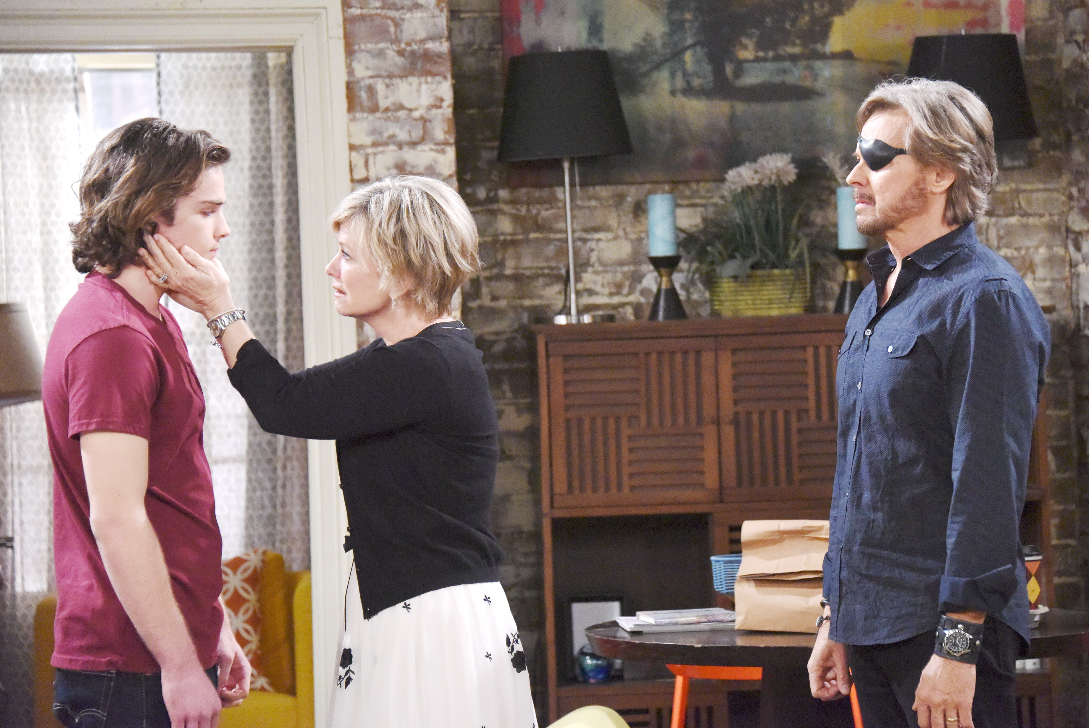 Joey says goodbye to Kayla and Steve on Days of Our Lives