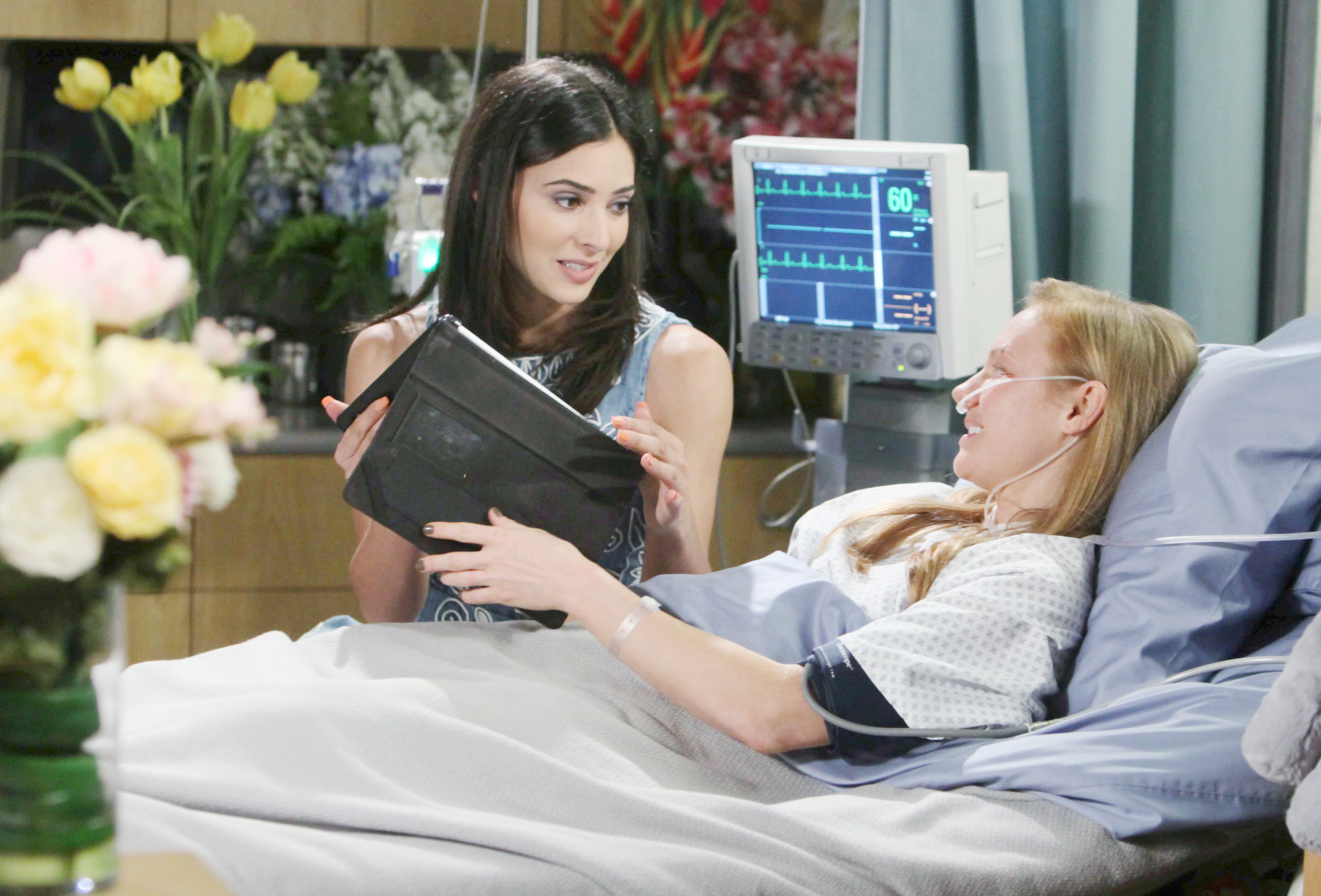 Gabi is hit when she learns Chad and Abigail are getting married on Days of Our Lives
