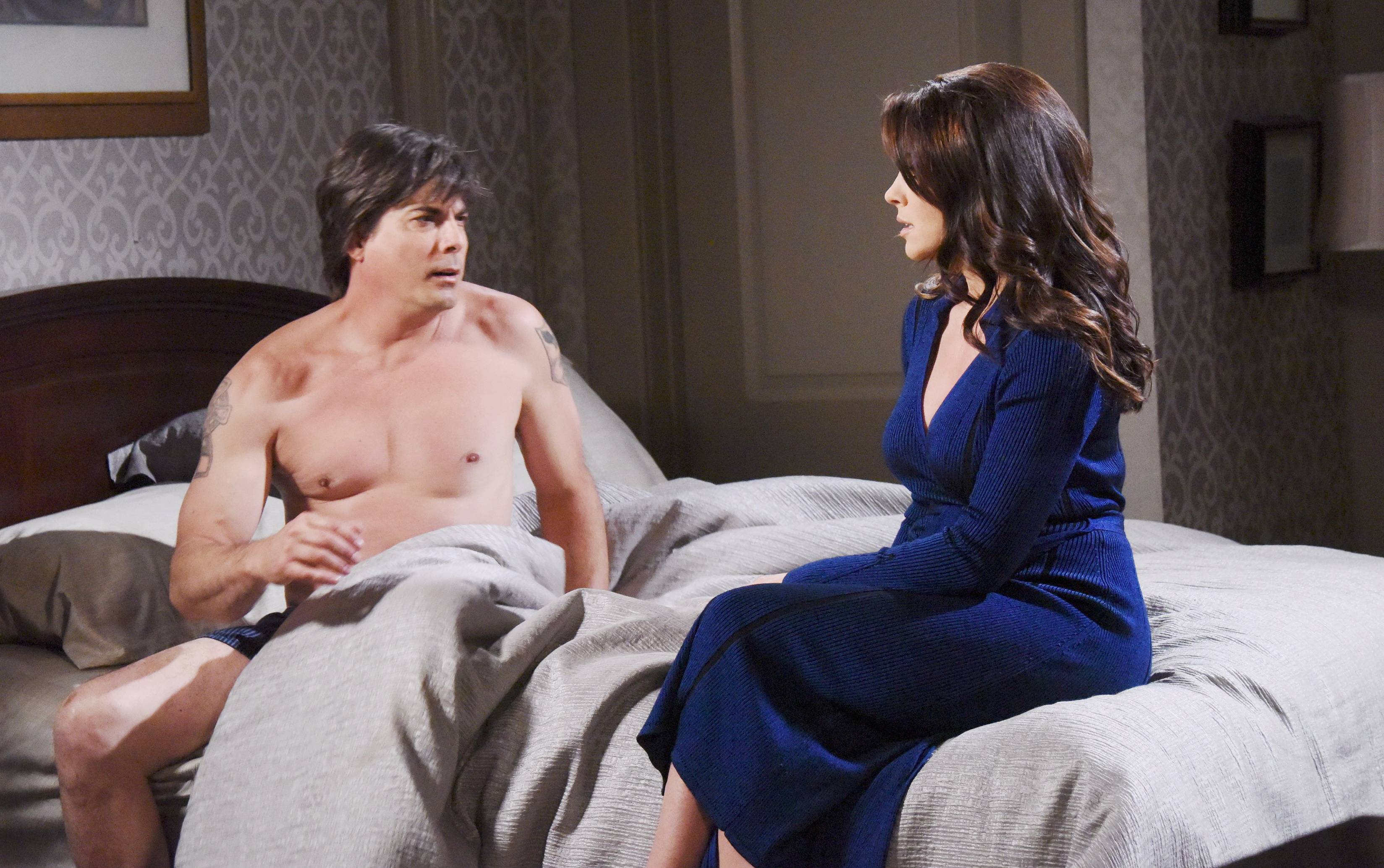 Lucas gets a horrible shock and turns to Chloe on Days of Our Lives