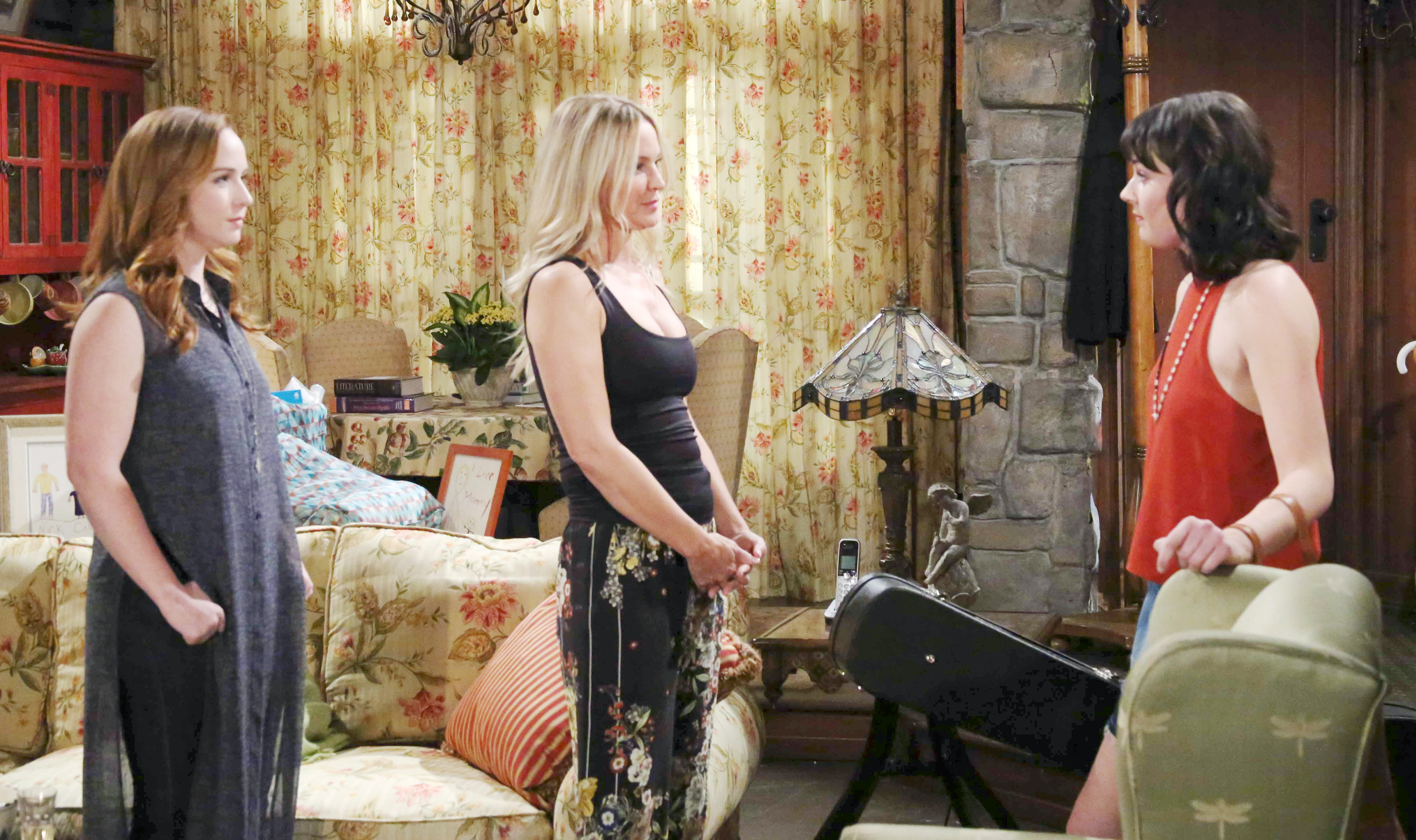 Sharon makes a startling connection on The Young and the Restless