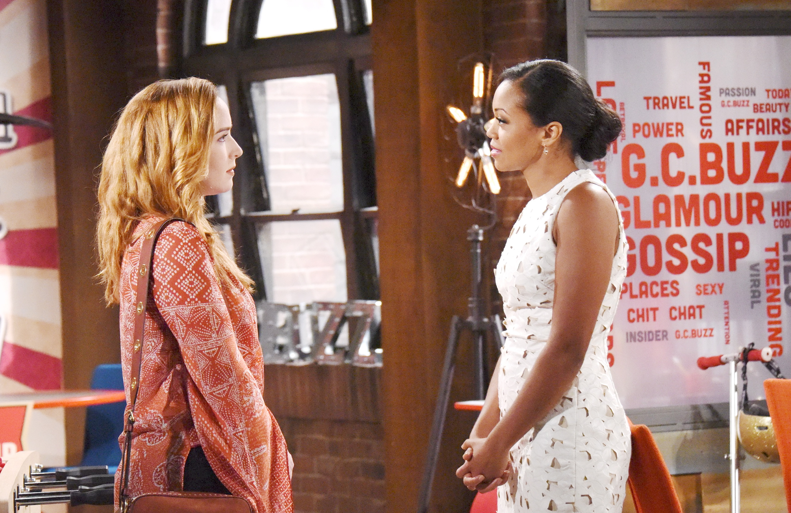 Hilary meddles in Devon and Mariah's relationship on The Young and the Restless