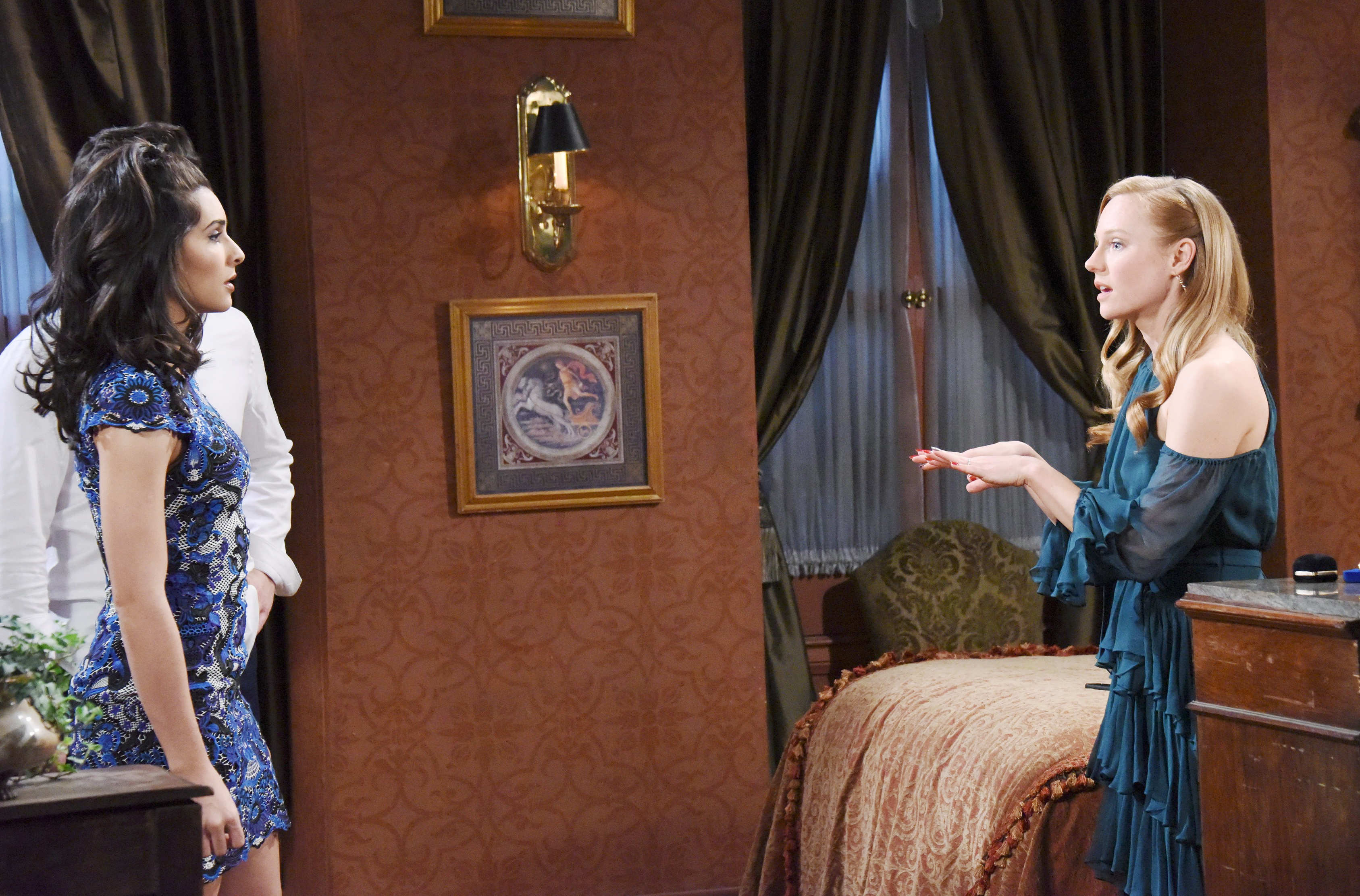 Days of Our Lives: Gabi and Abby face off.