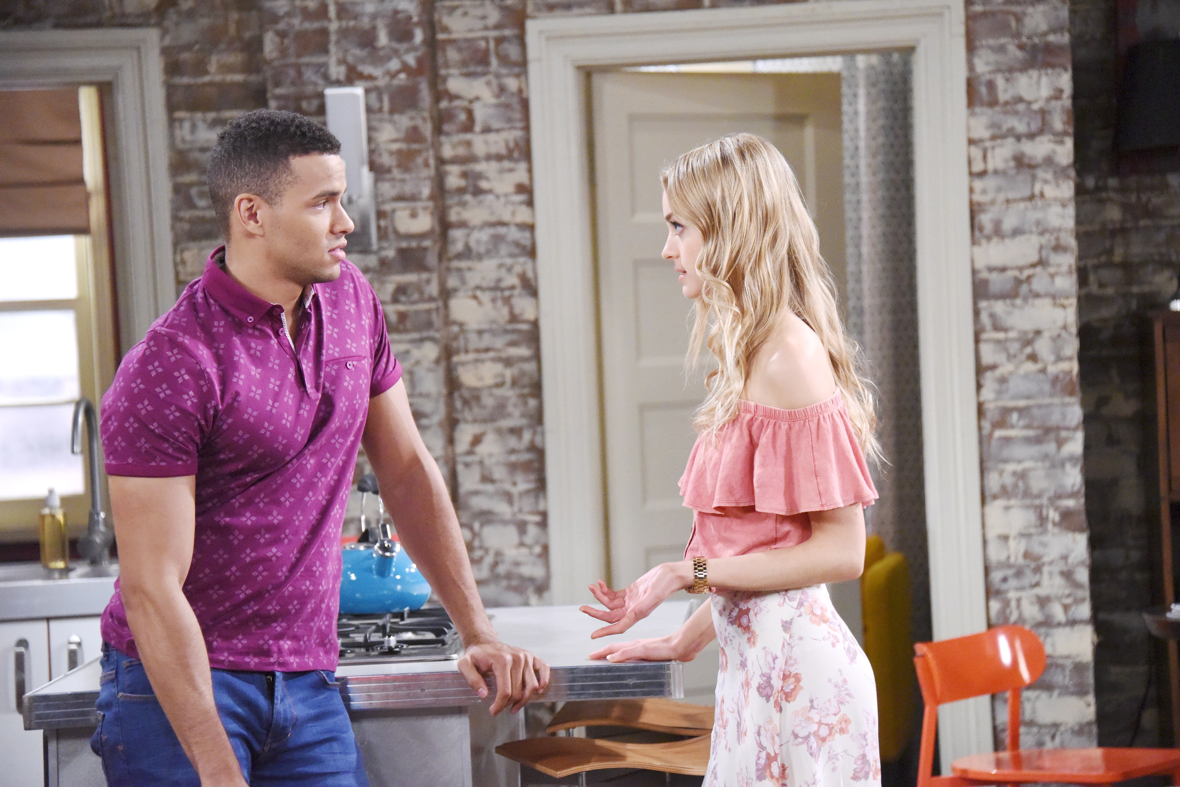 DOOL Spoilers- Theo is jealous when he learns Claire and Tripp will be working together.