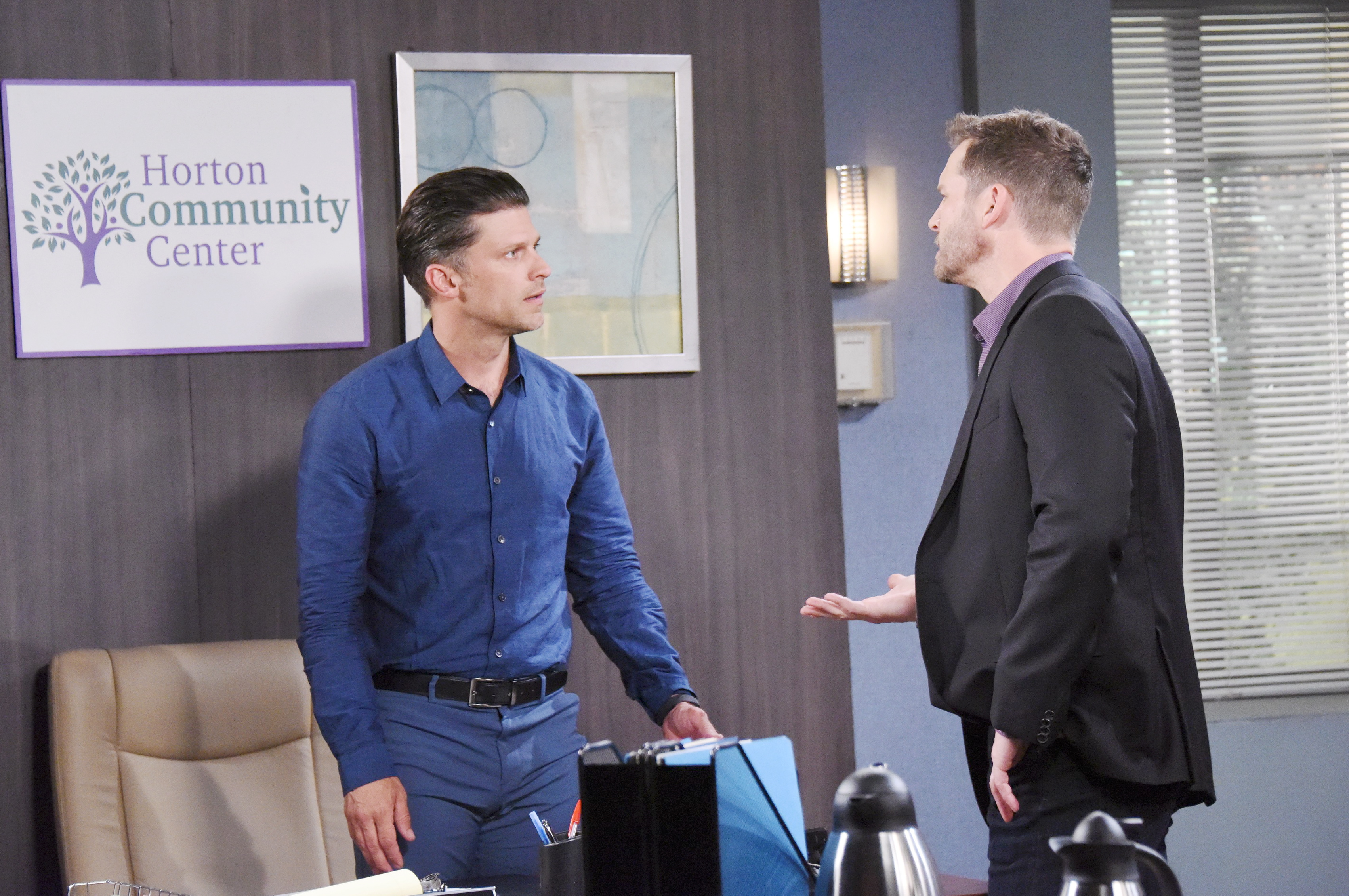 Days Of Our Lives Spoilers: •Eric confronts Brady about Nicole's decision to leave town with Holly.