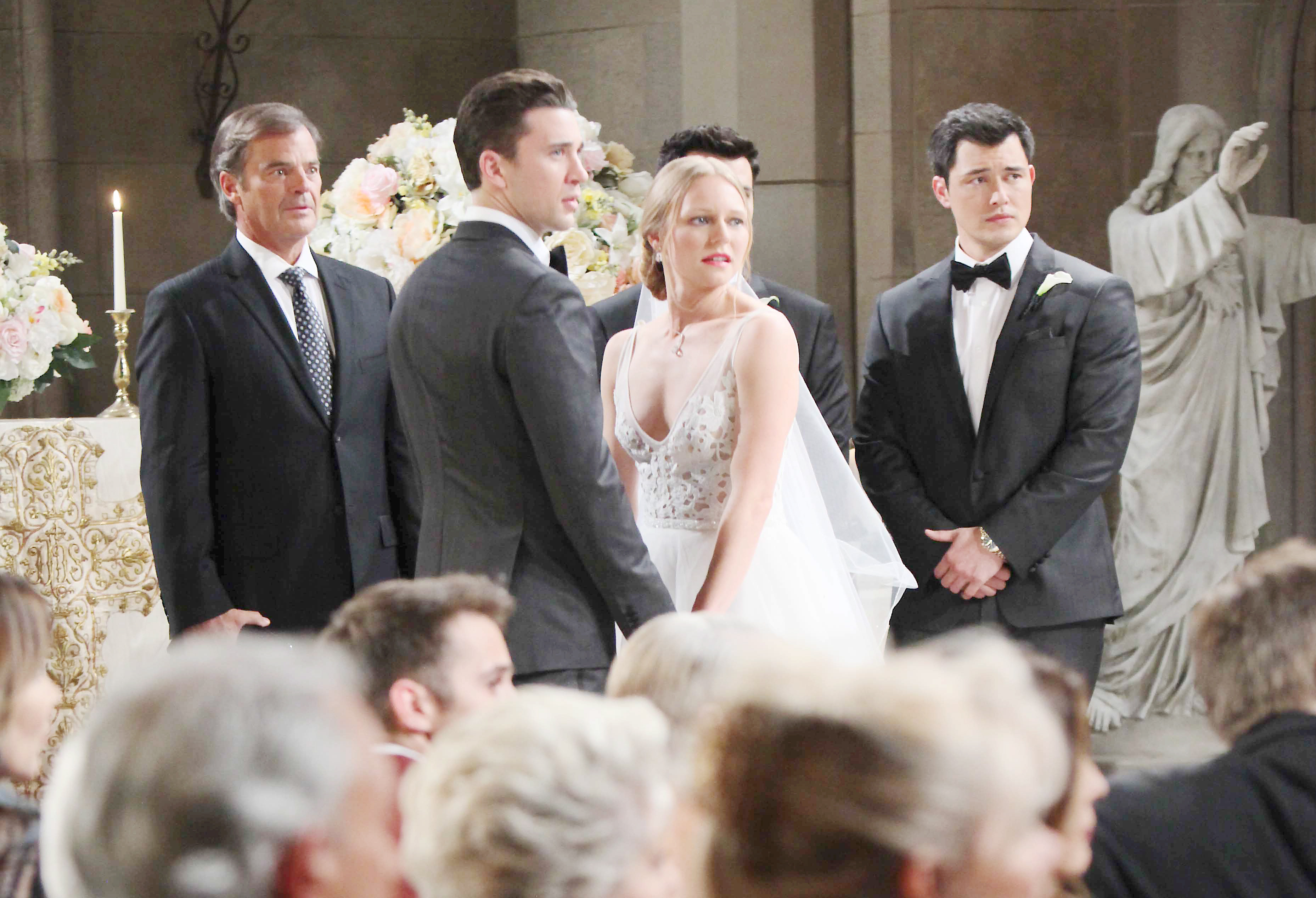 Days of Our Lives Spoilers: Chad, Abby, Sonny, and Chad are shocked when a mysterious guest crashes the wedding.