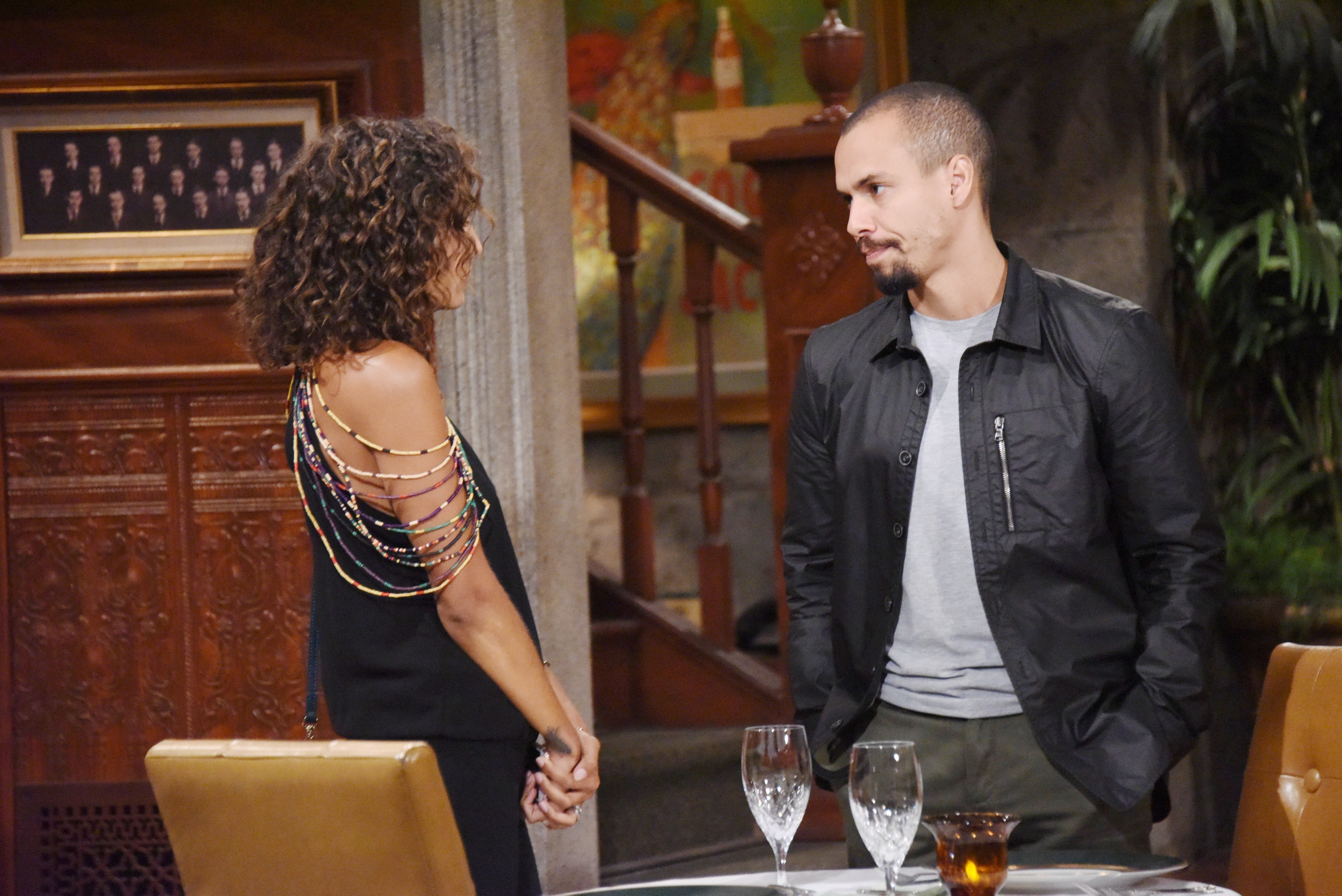 The Young and the Restless: Devon plays hardball.