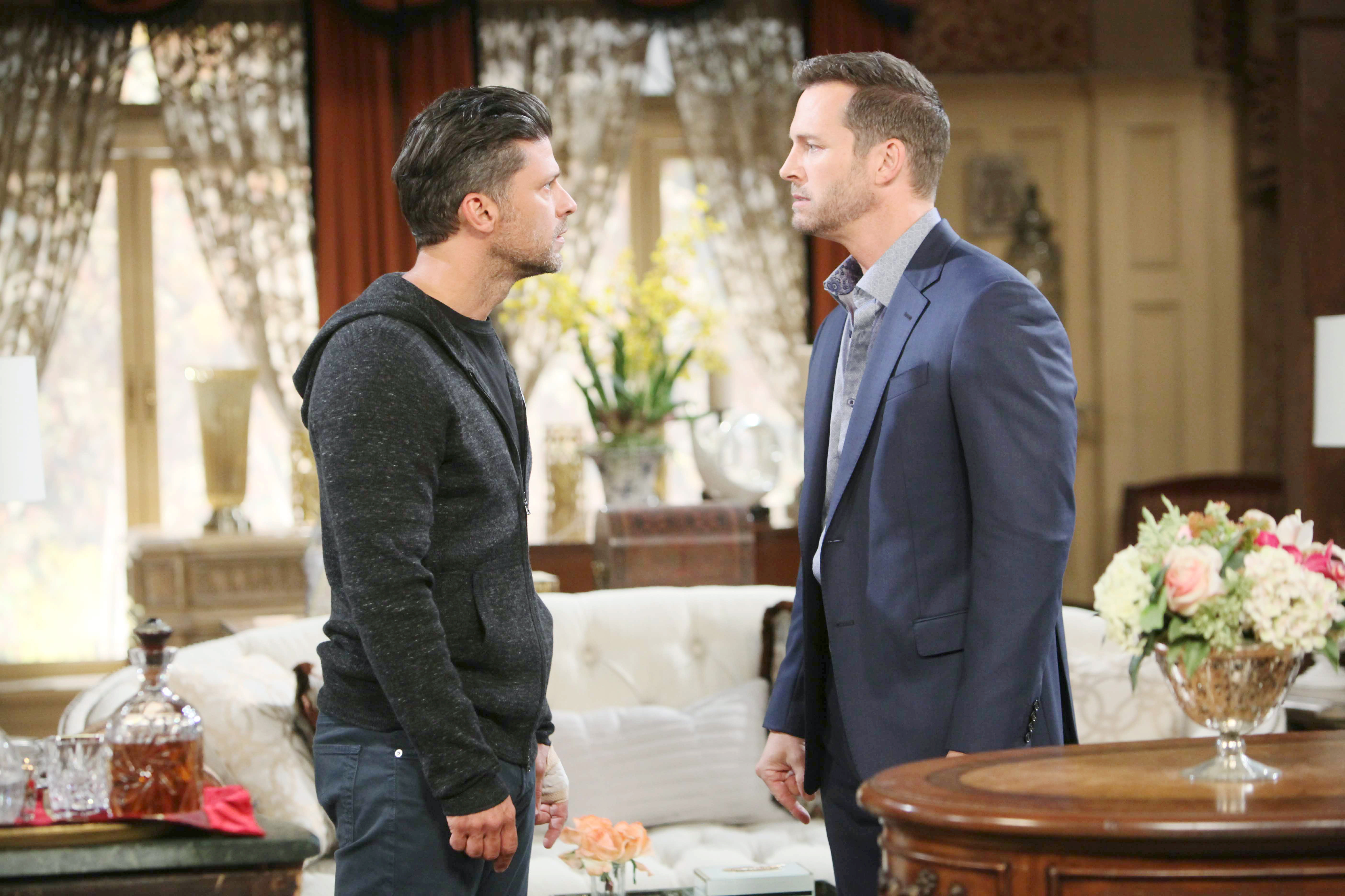 DOOL Spoilers: Eric and Brady have a tense run-in.
