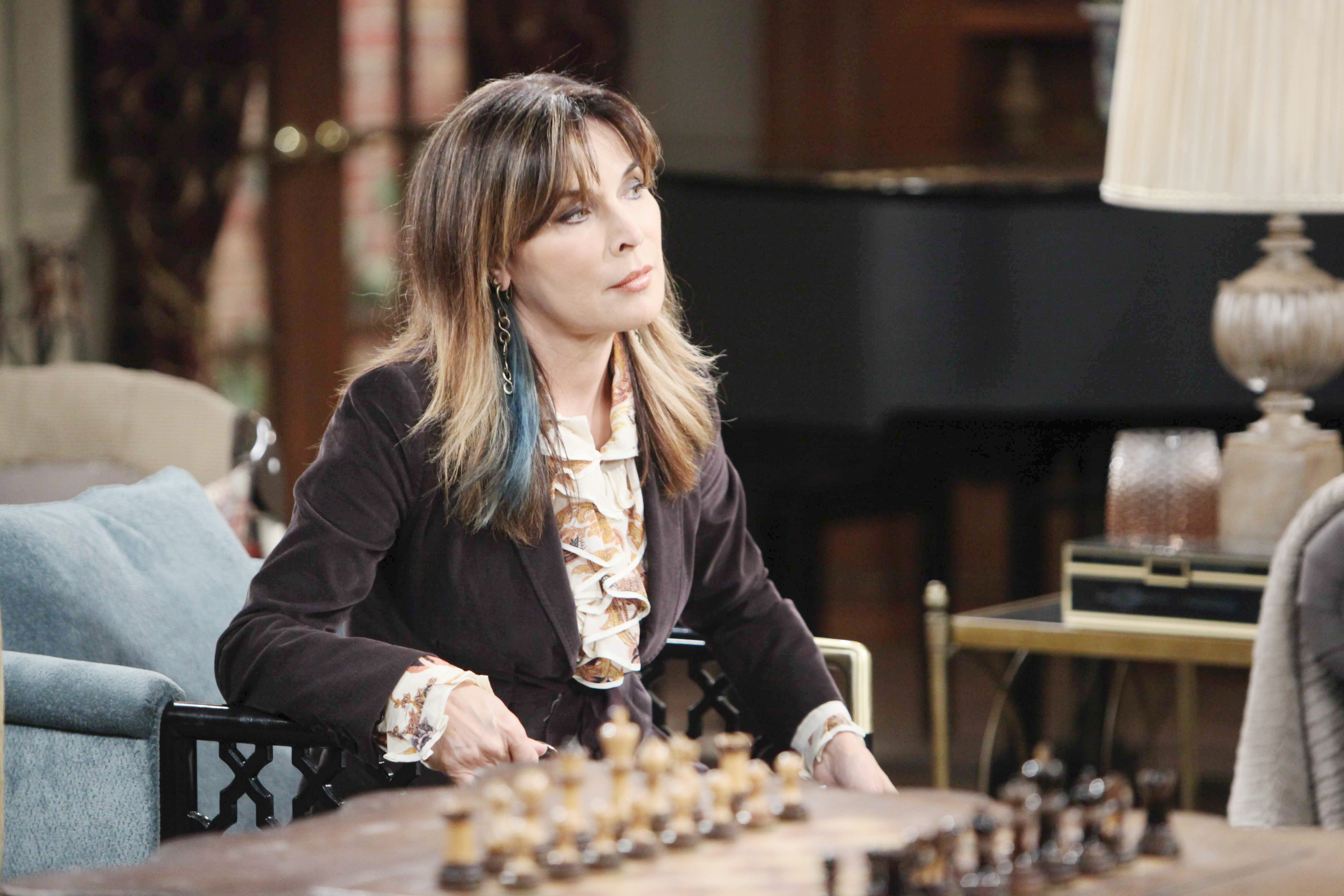 DOOL Spoilers: Kate is intrigued when she overhears a private conversation between Kayla and Steve.