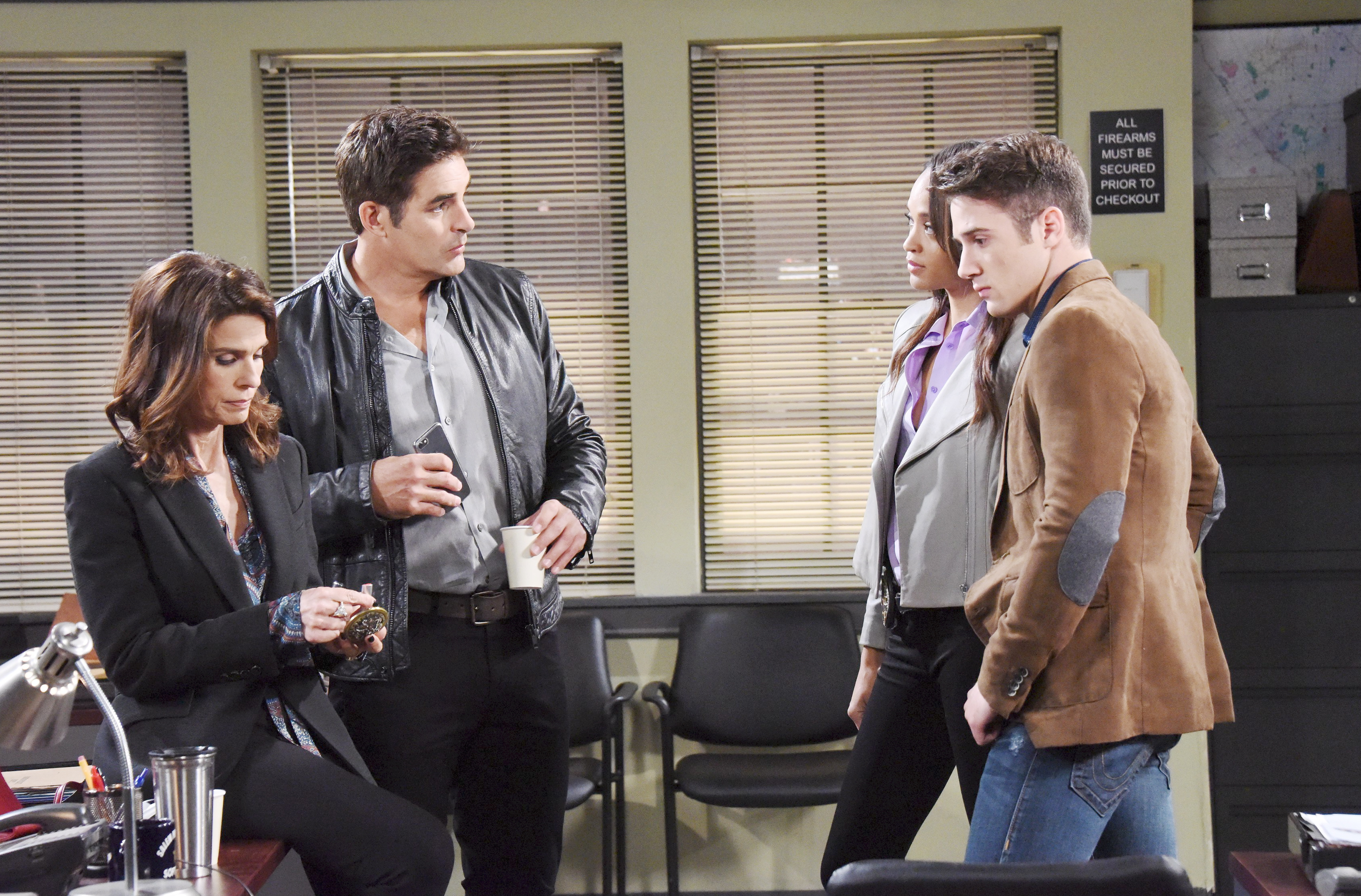 Days Of Our Lives Spoilers: Hope takes away JJ's badge and gun.