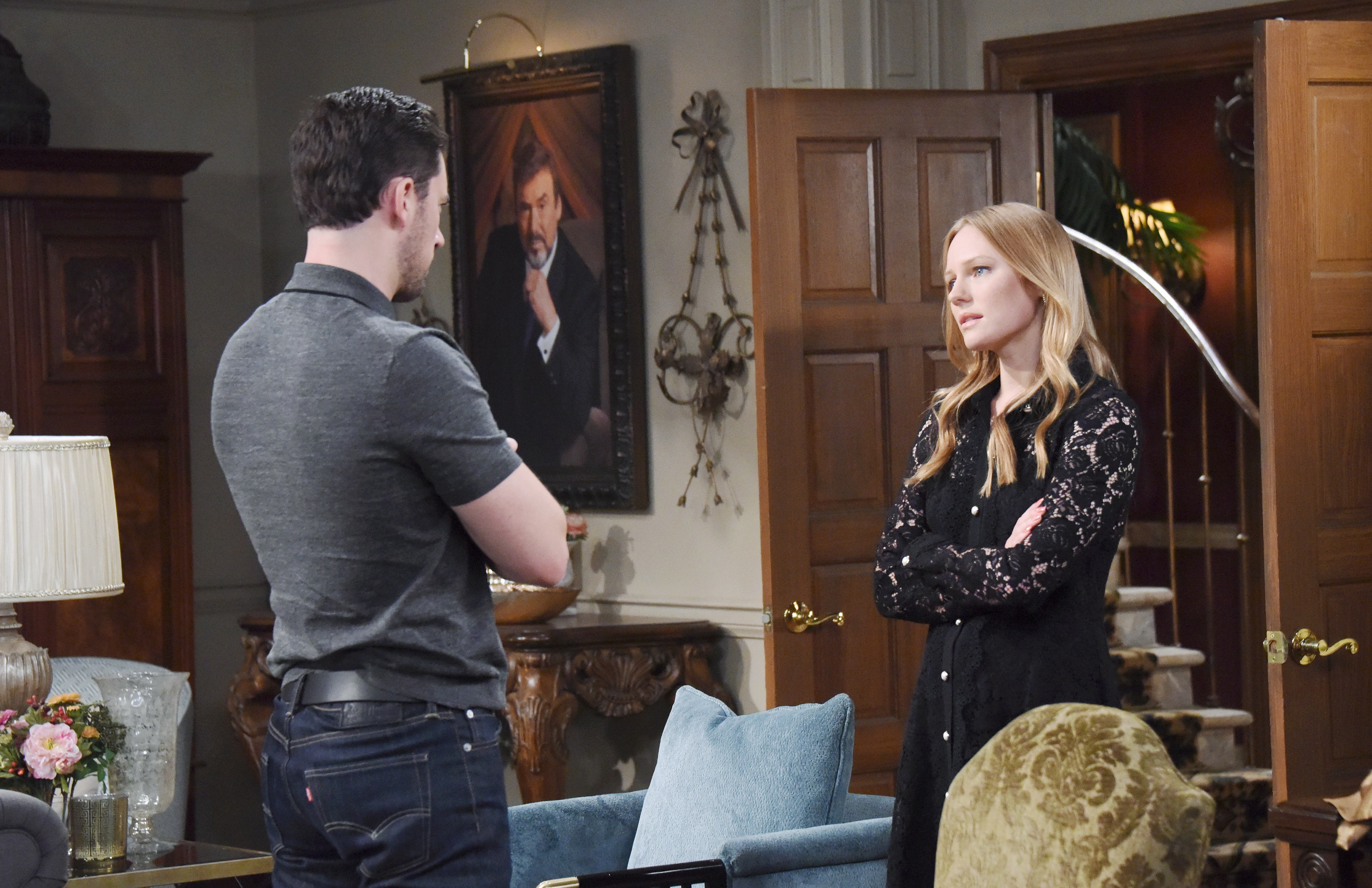 Days Of Our Lives Spoilers: Abigail asks Chad to reconsider throwing Andre out of the mansion.