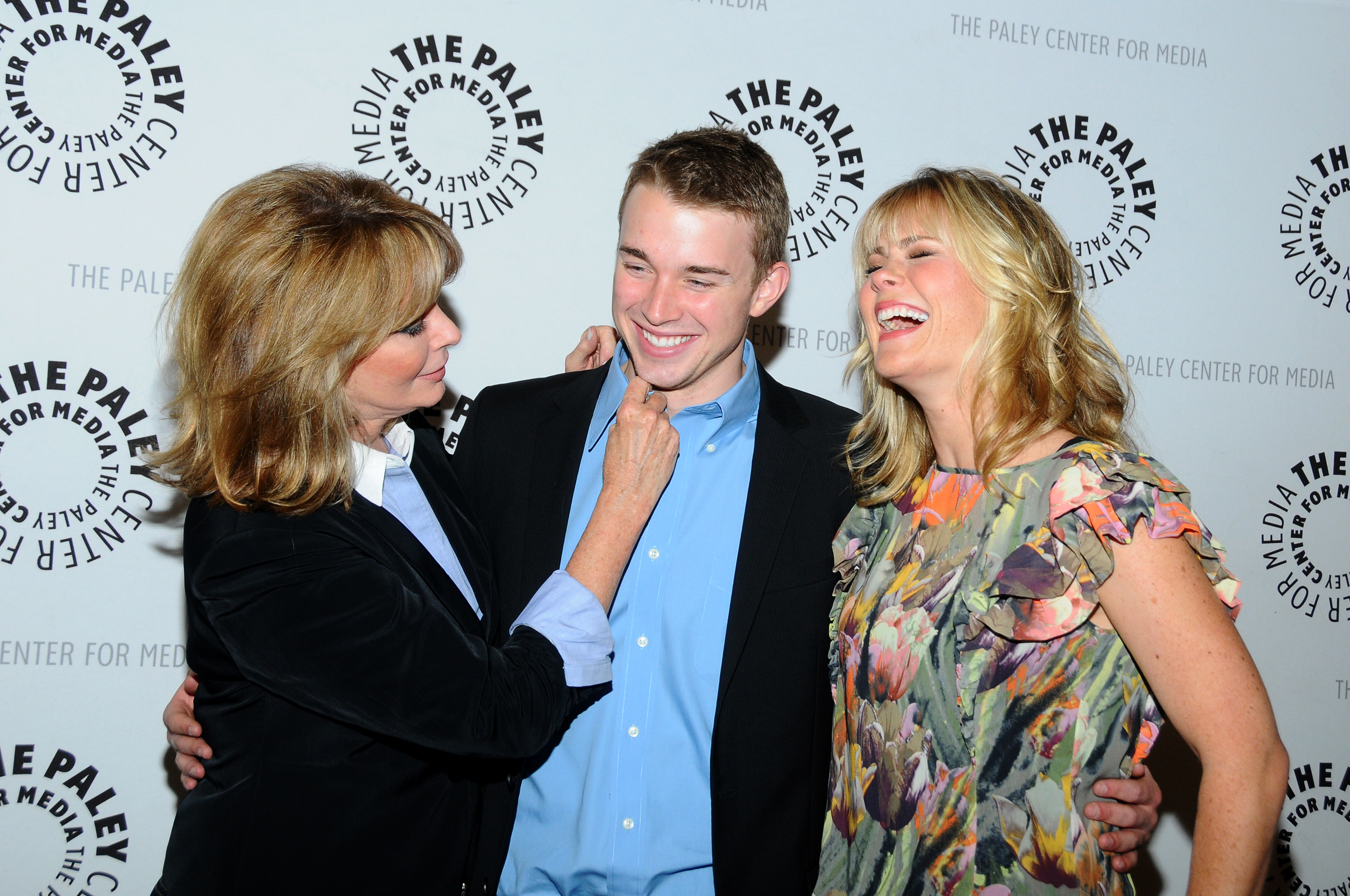 Deidre Hall, Chandler Massey, and Alison Sweeney from Days of Our Lives