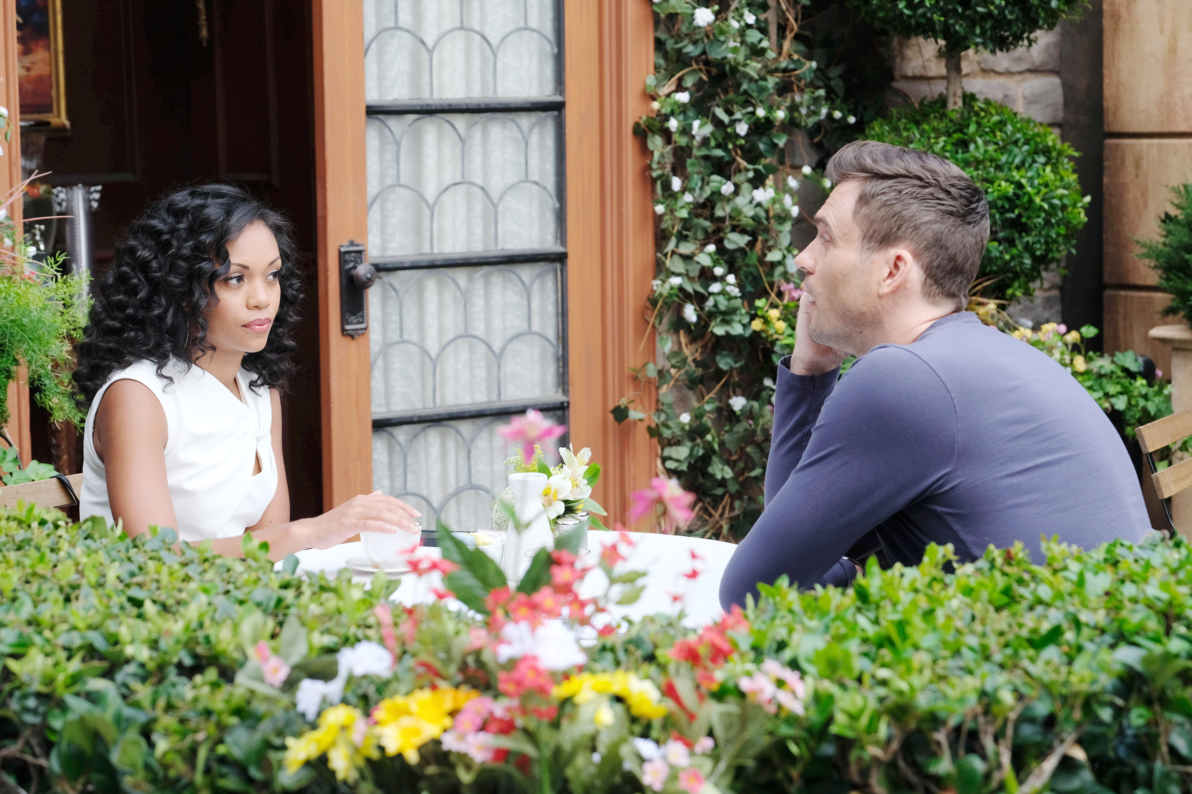 Y&R Spoilers: Hilary comforts Cane.