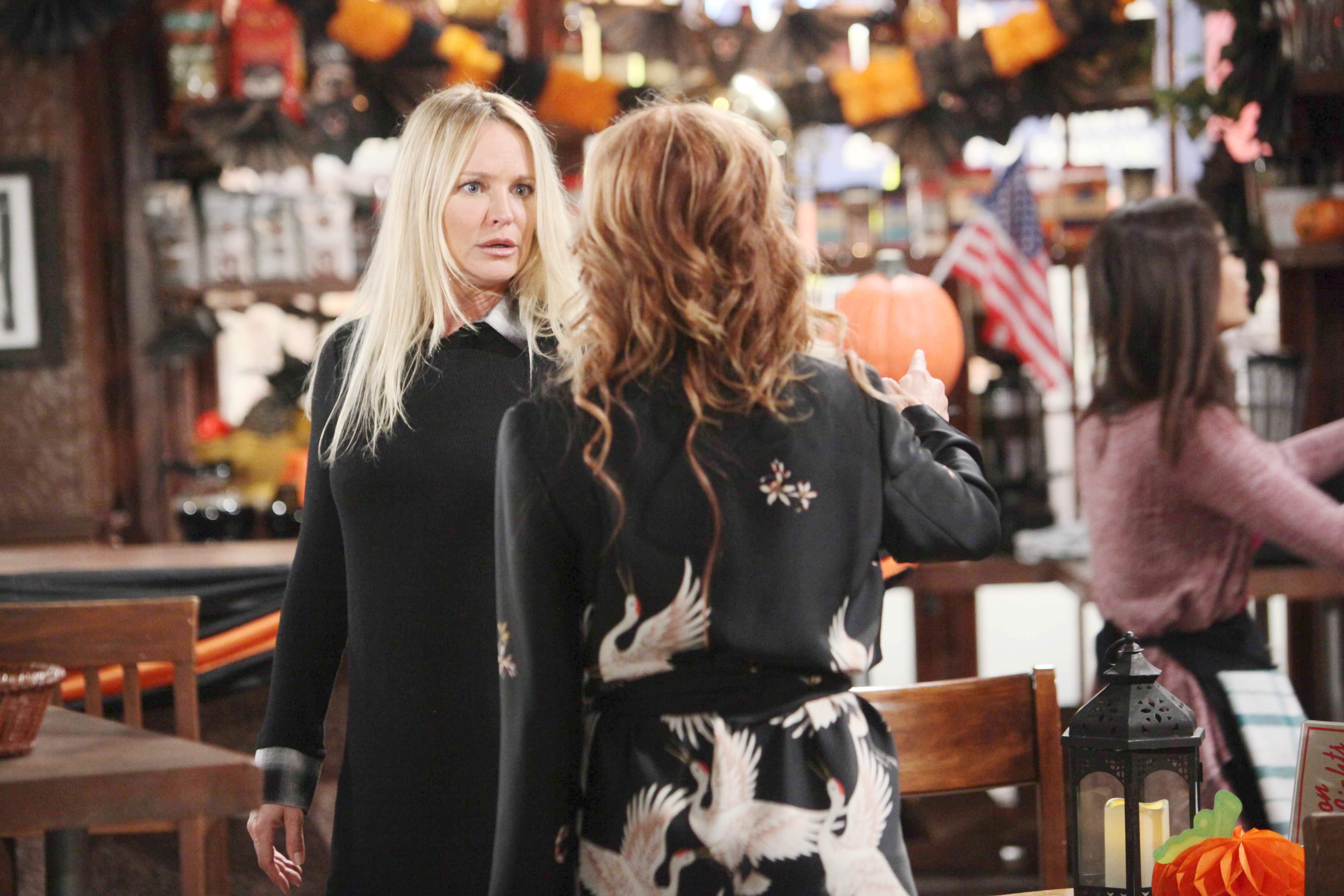 Y&R Spoilers: Sharon worries about Scott's safety.