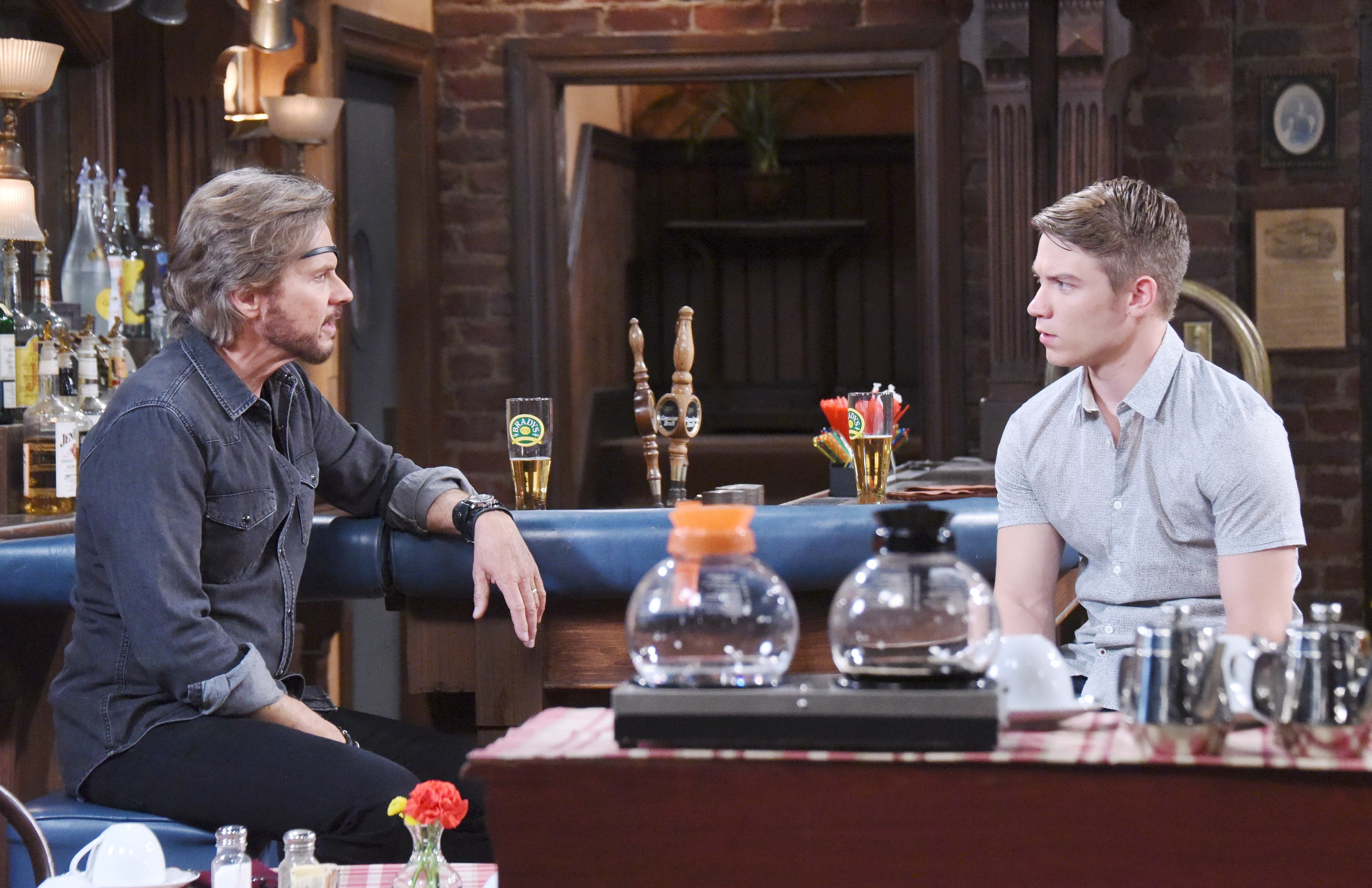 Days Of Our Lives Spoilers: Steve confronts Tripp about Kate.