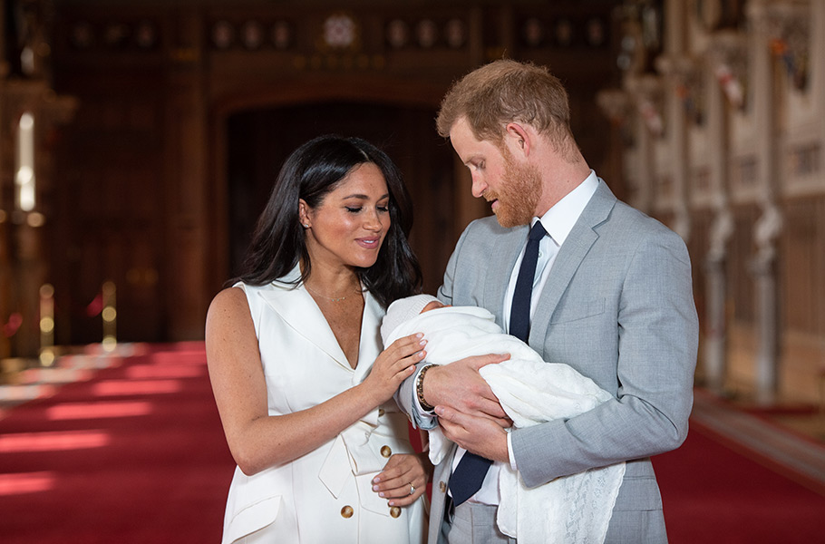 Meghan & Harry Plus One