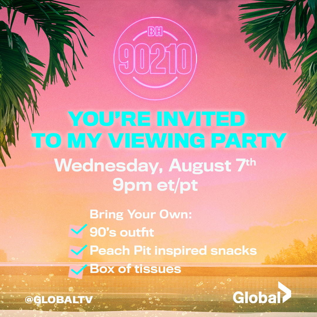 You're Invited: BH90210 Viewing Party - globaltv